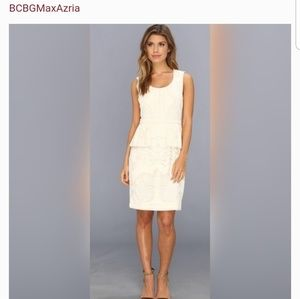 BCBGMaxAzria Peplum Sheath Dress - Brand New